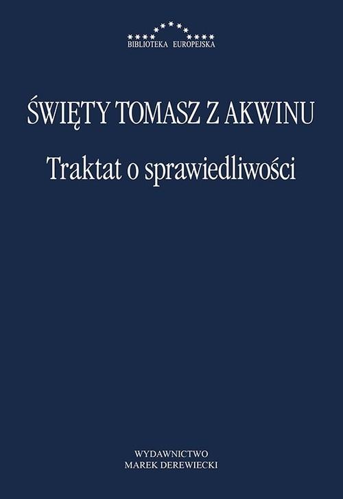 okładka Traktat o sprawiedliwości, Książka | z Akwinu Tomasz
