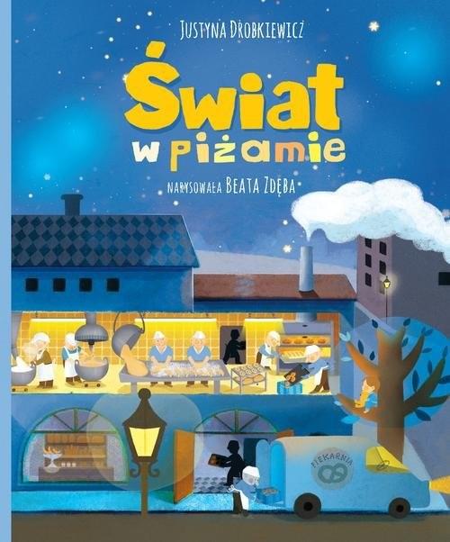 okładka Świat w piżamie, Książka | Drobkiewicz Justyna