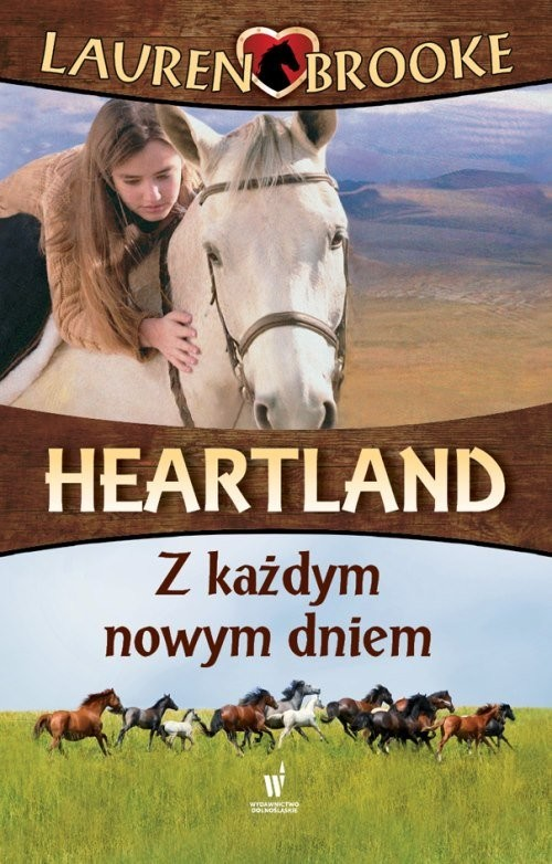 okładka Heartland 9 Z każdym nowym dniem, Książka | Brooke Lauren