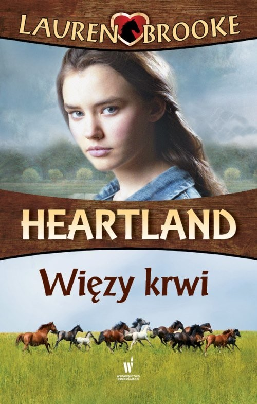 okładka Heartland 8 Więzy krwi, Książka | Brooke Lauren