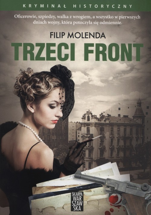 okładka Trzeci Front, Książka | Molenda Filip