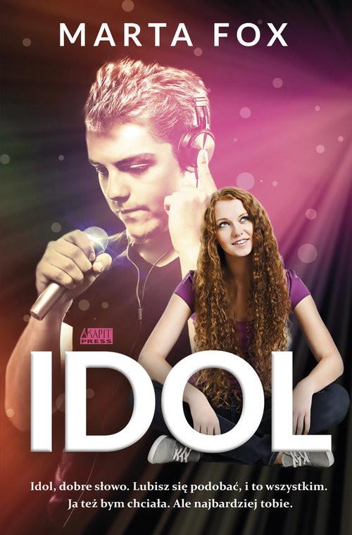 okładka Idol, Książka | Marta Fox