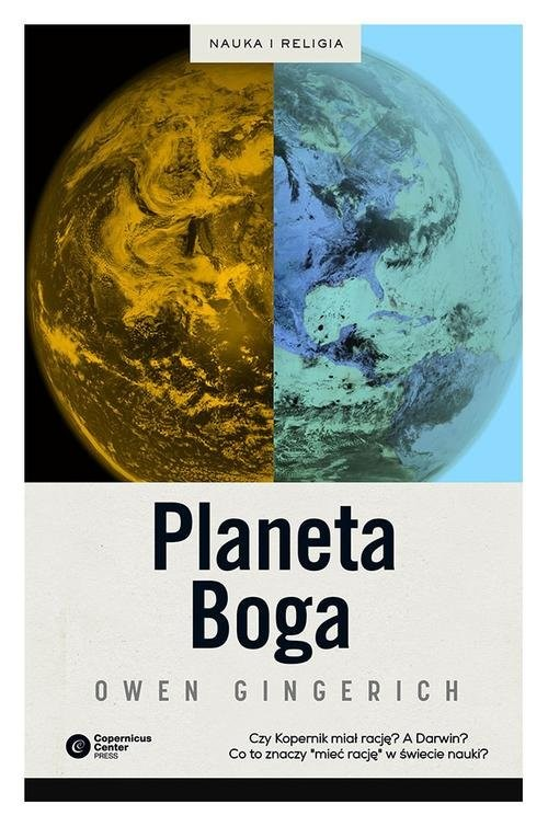 okładka Planeta Boga, Książka | Owen Gingerich