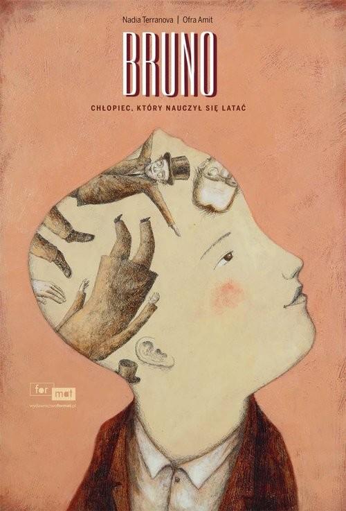 okładka Bruno Chłopiec który nauczył się latać, Książka | Terranova Nadia