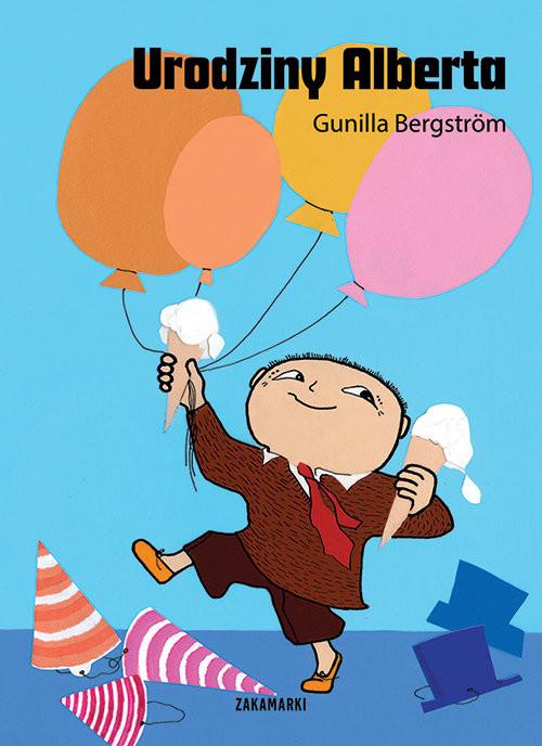 okładka Urodziny Alberta, Książka   Bergstrom Gunilla