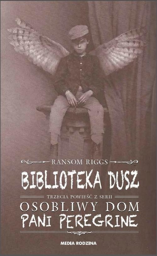 okładka Biblioteka dusz, Książka | Ransom Riggs