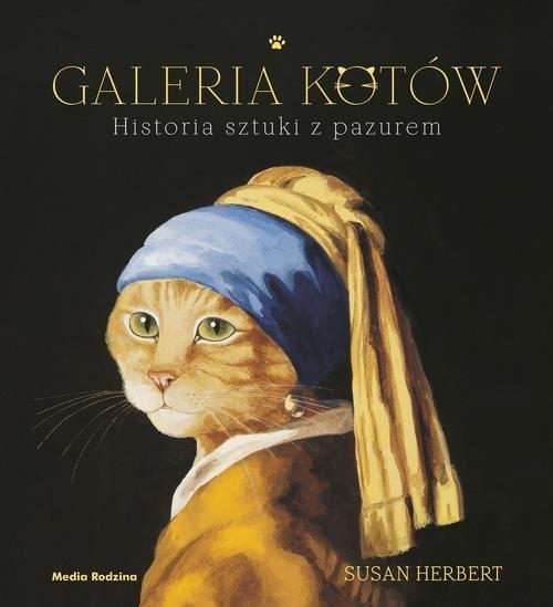 okładka Galeria kotów Historia sztuki z pazurem, Książka | Herbert Susan