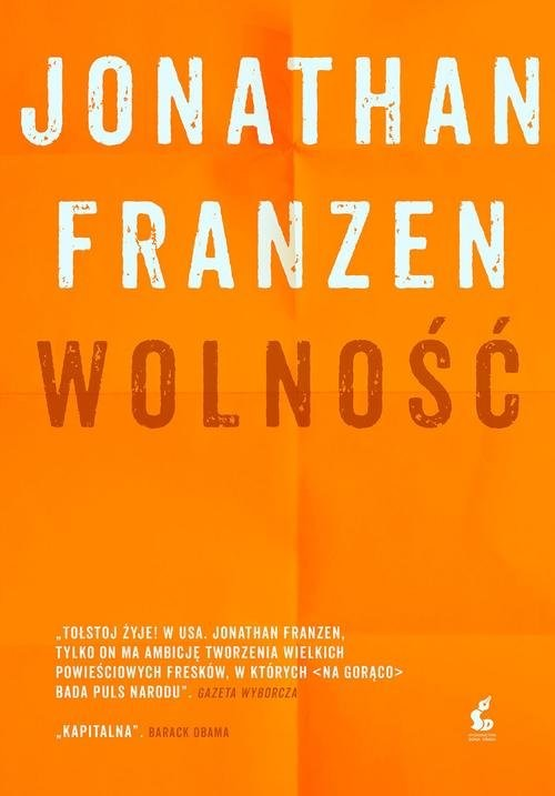 okładka Wolność, Książka | Franzen Jonathan