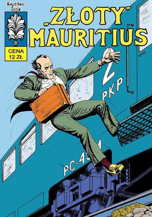 okładka Kapitan Żbik Złoty Mauritius, Książka | Krupka Krzysztof