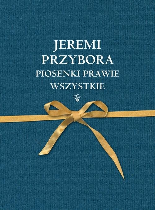 okładka Piosenki prawie wszystkie, Książka | Jeremi Przybora