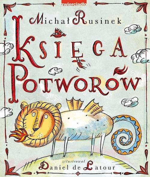 okładka Księga Potworów, Książka | Rusinek Michał