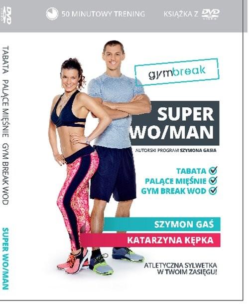 okładka Gym Break Super WoMen, Książka | Kępka Szymon Gaś Kasia
