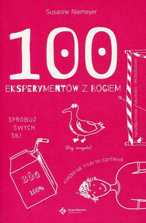 okładka 100 eksperymentów z Bogiem, Książka | Niemeyer Susanne