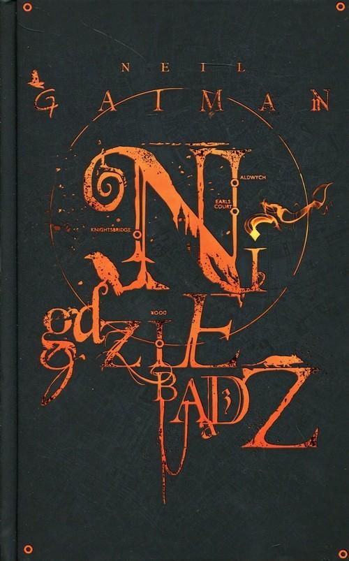 okładka Nigdziebądź, Książka | Neil Gaiman