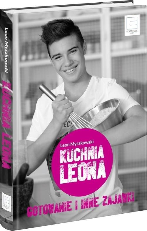 okładka Kuchnia Leona Gotowanie i inne zajawki, Książka | Myszkowski Leon