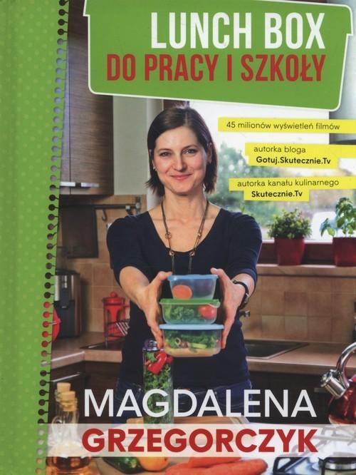 okładka Lunch box do pracy i szkoły, Książka | Grzegorczyk Magdalena