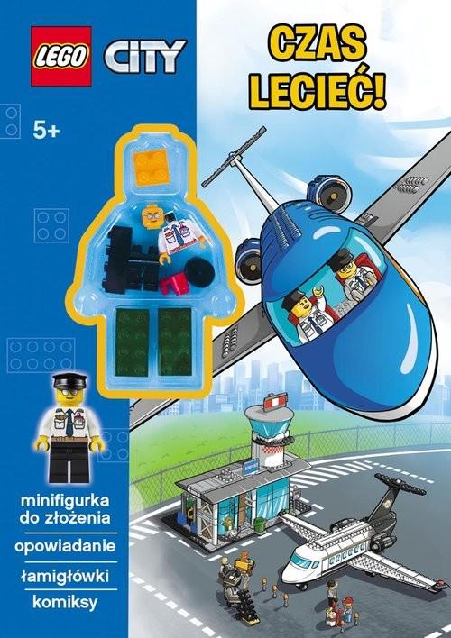 okładka Lego City Czas lecieć!, Książka |
