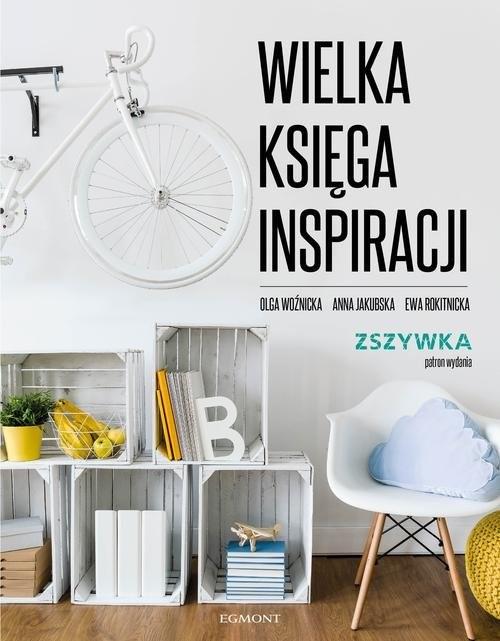 okładka Wielka księga inspiracji, Książka | Rokitnicka Ewa