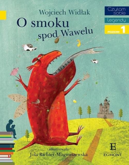 okładka O smoku spod Wawelu, Książka | Widłak Wojciech