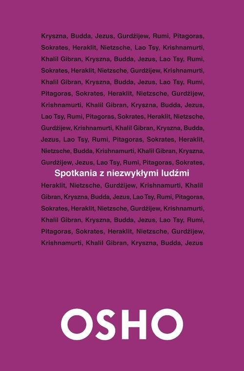 okładka Spotkania z niezwykłymi ludźmi, Książka | OSHO