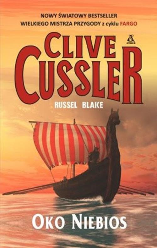 okładka Oko Niebios, Książka | Cussler Clive