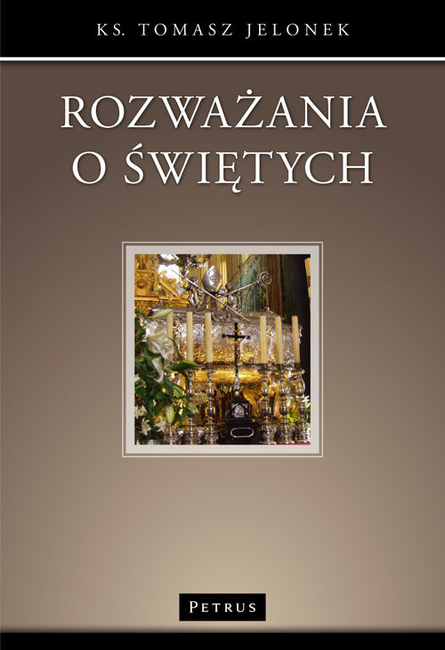 okładka Rozważania o świętych, Książka | Jelonek Tomasz