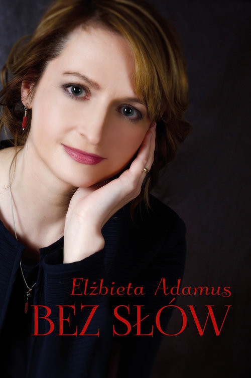okładka Bez słów, Książka | Adamus Elżbieta