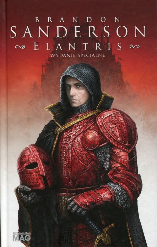 okładka Elantris wydanie specjalne, Książka | Sanderson Brandon