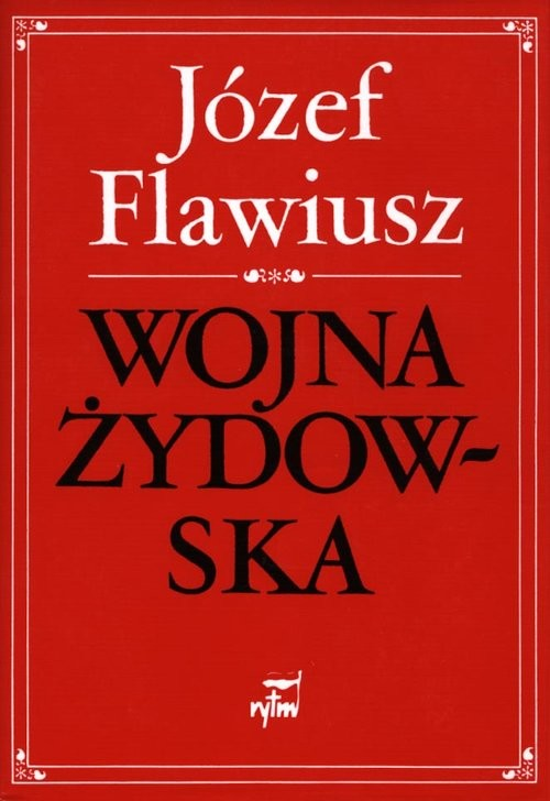 okładka Wojna żydowska, Książka   Flawiusz Józef