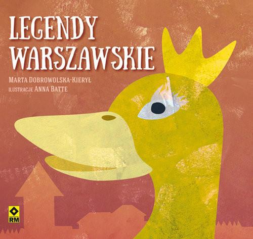 okładka Legendy warszawskie, Książka | Marta Dobrowolska-Kierył