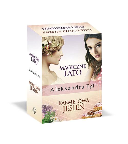 okładka Magiczne lato / Karmelowa jesień Pakiet, Książka   Aleksandra  Tyl