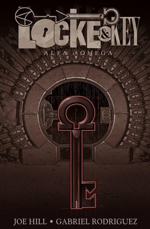 okładka Locke & Key 6 Alfa i Omega, Książka | Joe Hill, Gabriel Rodriguez