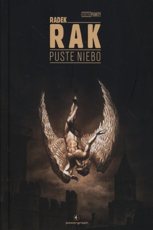 okładka Puste niebo, Książka | Radek Rak