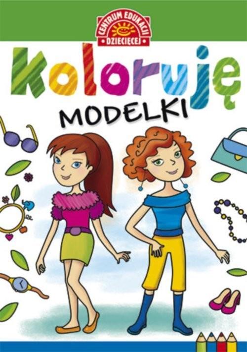 okładka Koloruję Modelki, Książka |