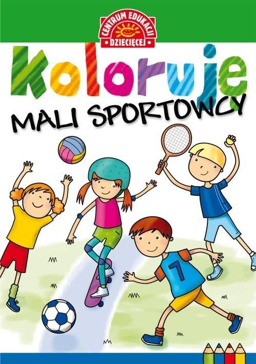 okładka Koloruję Mali sportowcy, Książka |