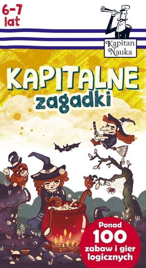 okładka Kapitalne zagadki (6-7 lat), Książka   Trepczyńska Magdalena