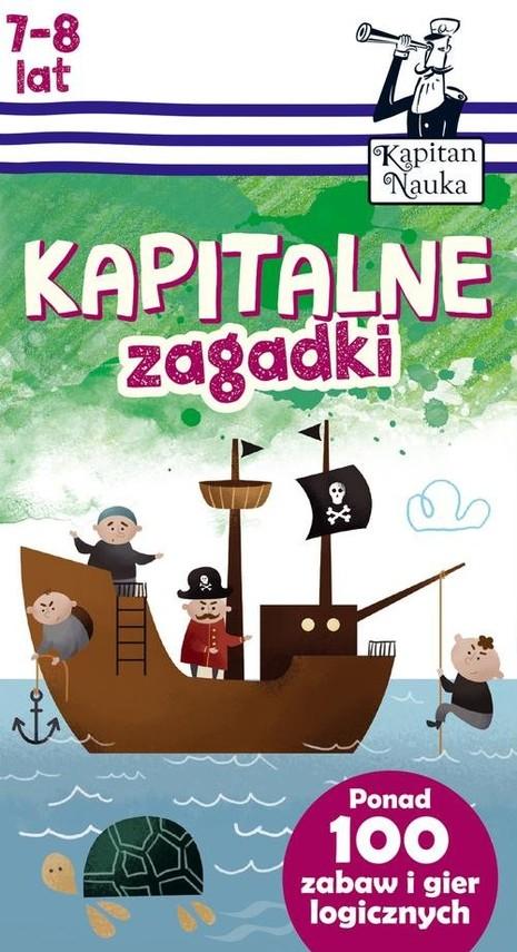 okładka Kapitalne zagadki (7-8 lat), Książka   Trepczyńska Magdalena
