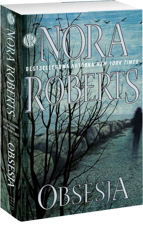 okładka Obsesja, Książka | Roberts Nora