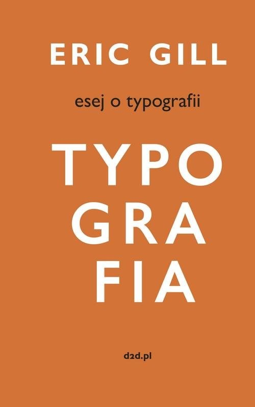 okładka Esej o typografiiksiążka |  | Gill Eric