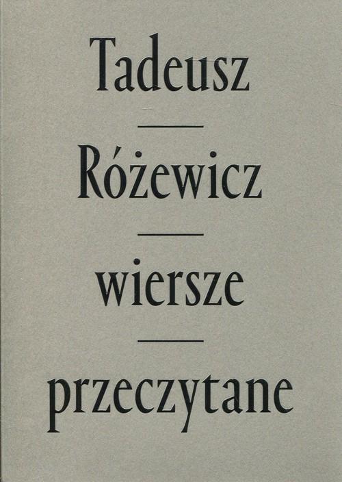 okładka Wiersze przeczytane z płytą CD mix kolor oprawa, Książka | Różewicz Tadeusz