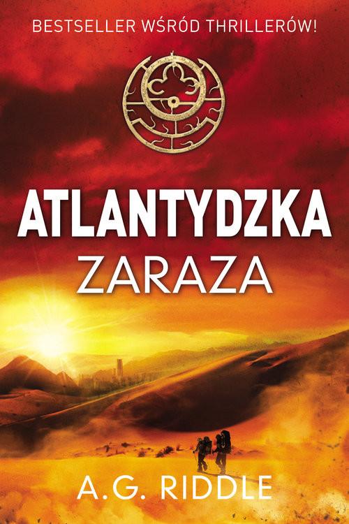 okładka Atlantydzka zaraza, Książka   Riddle A.G.