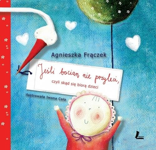 okładka Jeśli bocian nie przyleci, Książka | Frączek Agnieszka
