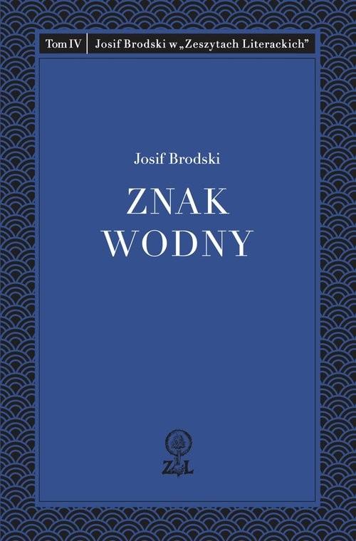 okładka Znak wodny, Książka   Brodski Josif