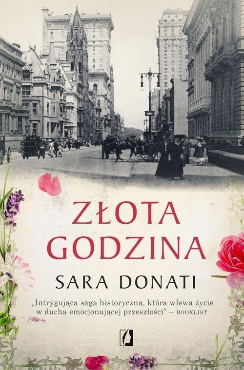okładka Złota godzina, Książka   Sara Donati