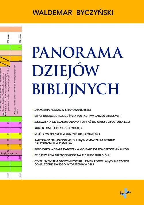 okładka Panorama Dziejów Biblijnych, Książka   Byczyński Waldemar