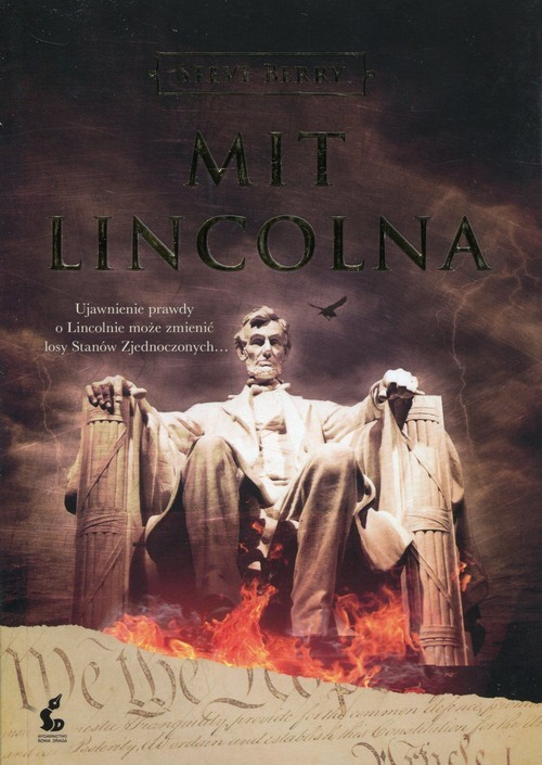 okładka Mit Lincolna, Książka | Steve Berry