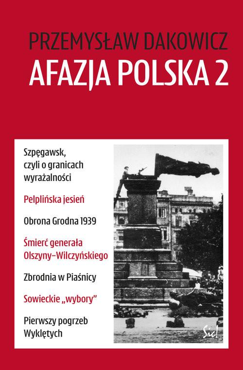 okładka Afazja polska 2, Książka | Przemysław Dakowicz