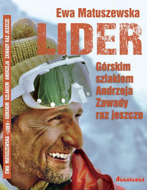 okładka Lider Górskim szlakiem A. Zawady, Książka | Matuszewska Ewa