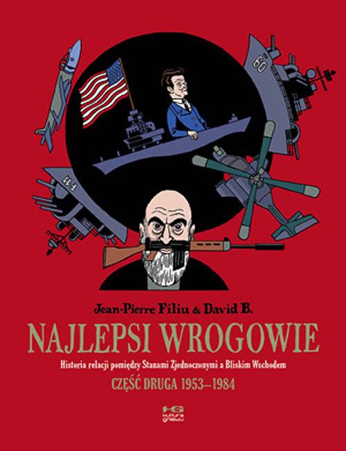okładka Najlepsi wrogowie, Książka   Jean - Pierre Filiu, B. David