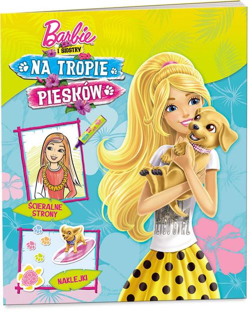 okładka Barbie i siostry Na tropie piesków, Książka |